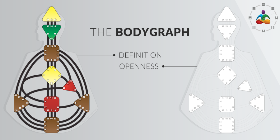The BodyGraph - Definition vs Openness